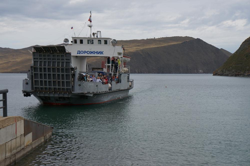 bateau olkhon
