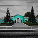 gare sibérie