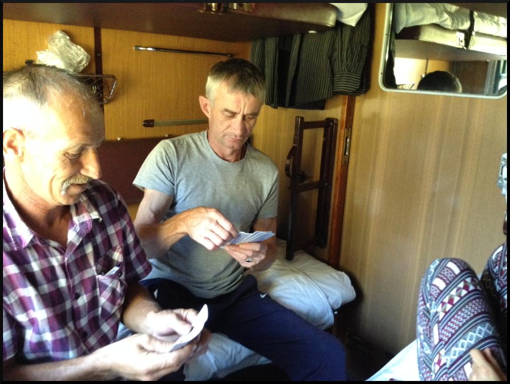 Richard (à gauche) et Sergei (à droite)