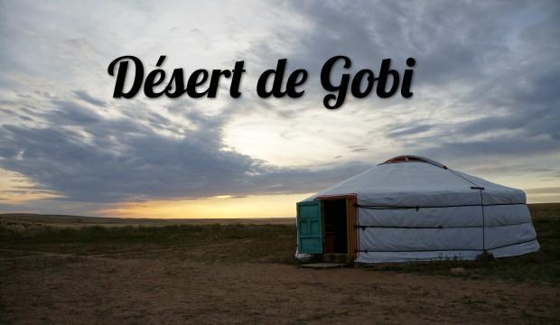 Quelques jours dans le Désert de Gobi