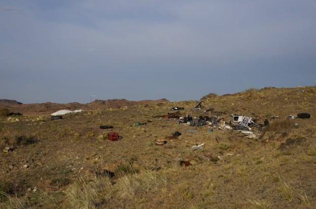 désert déchets