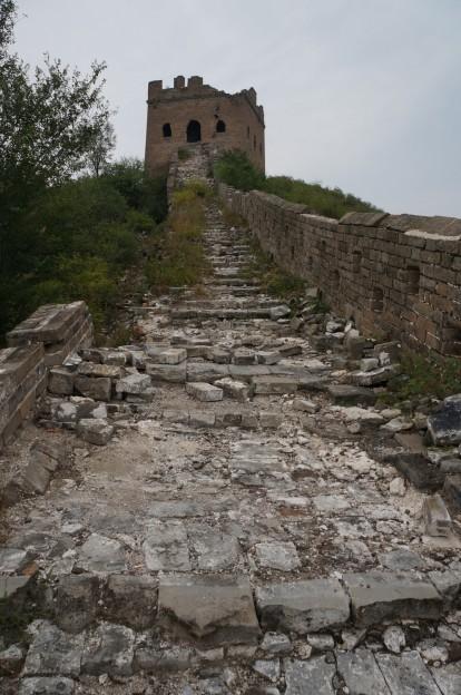 muraille pas rénovée