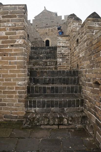 murailles escaliers