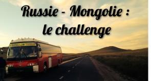 Challenge du jour : Arriver en Mongolie