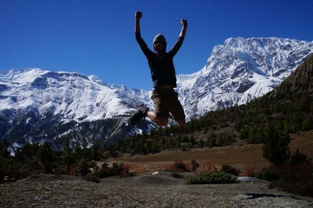 37 moi montagne saut