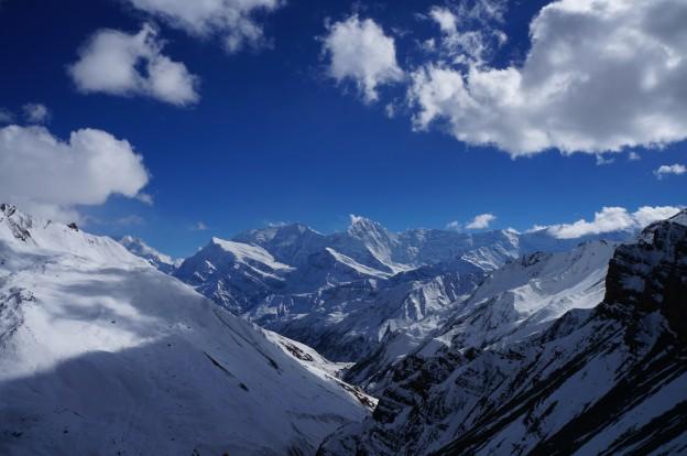 43 montagnes depuis high camp