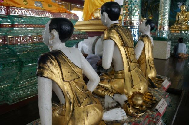 Shwedagon Bouddhas