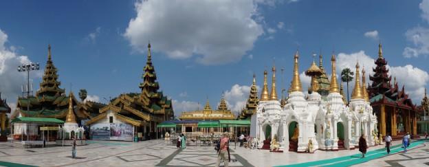 Shwedagon pano