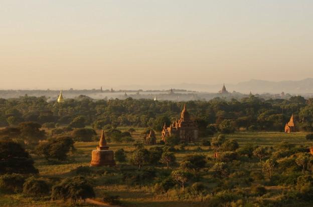 bagan temples levé soleil4