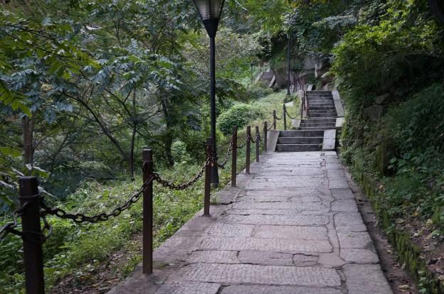 escaliers début