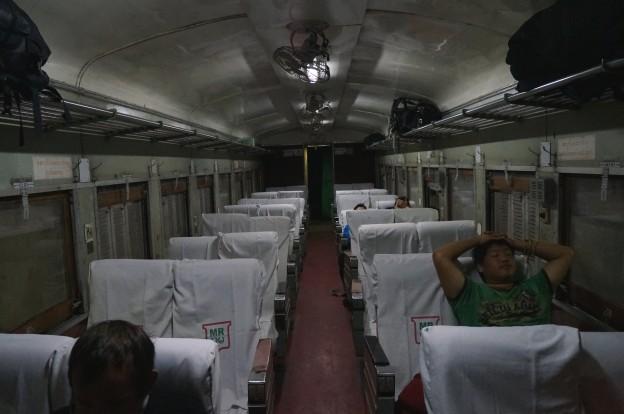intérieur train mandalay