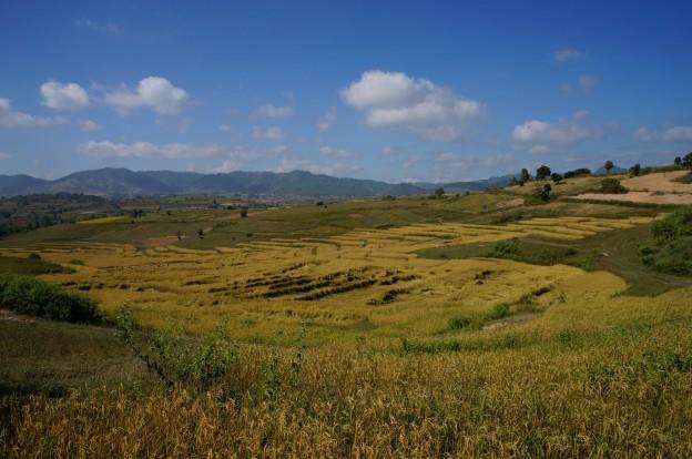 trek inle culture riz