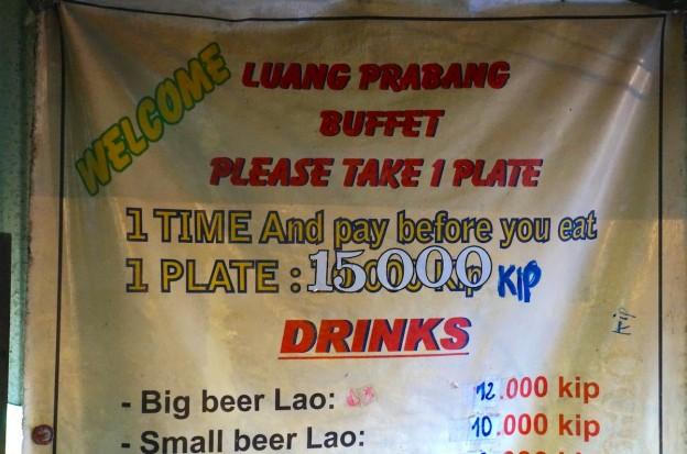 buffet laos 2
