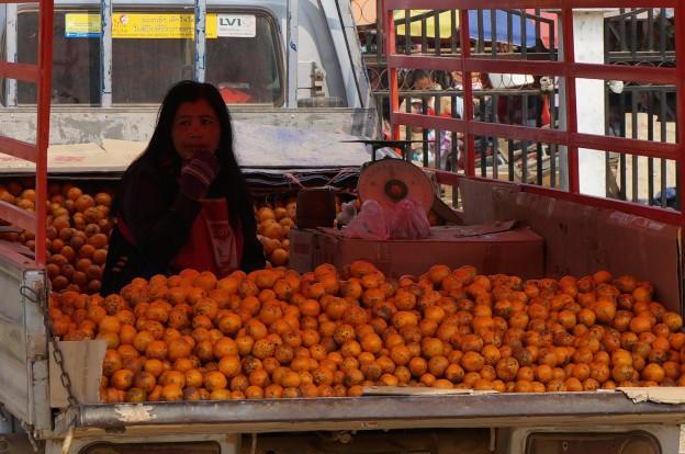 femme mandarine