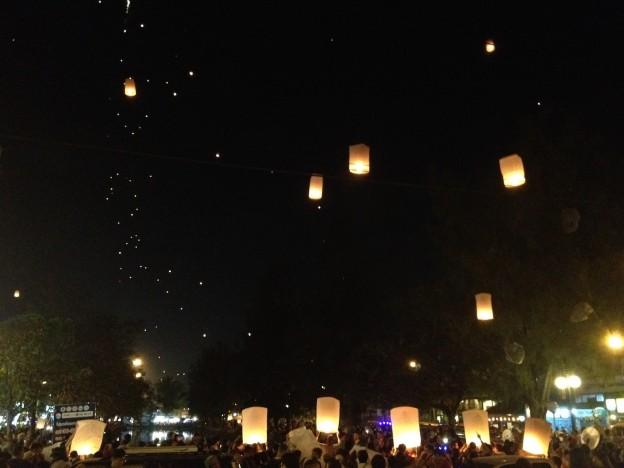 milliers lanternes