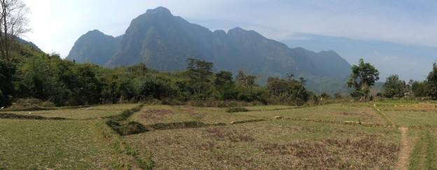 pano rizieres montagnes