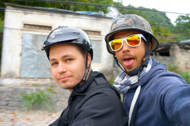 Steph et moi scoot