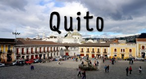 Bienvenido a Quito!