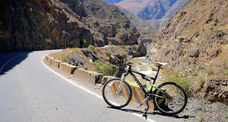 canyon del pato vélo
