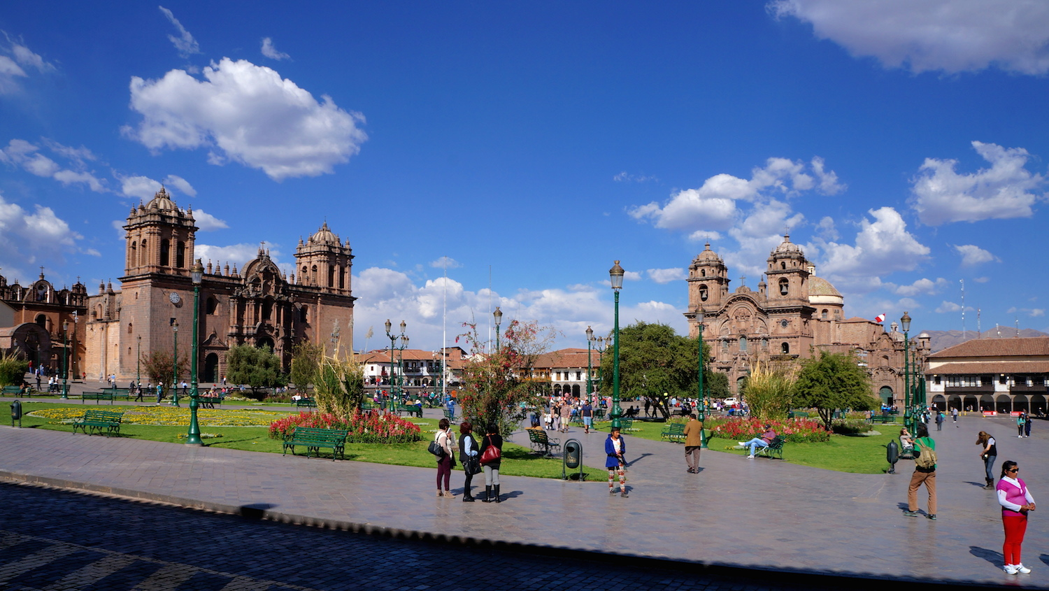 cusco plaza armas