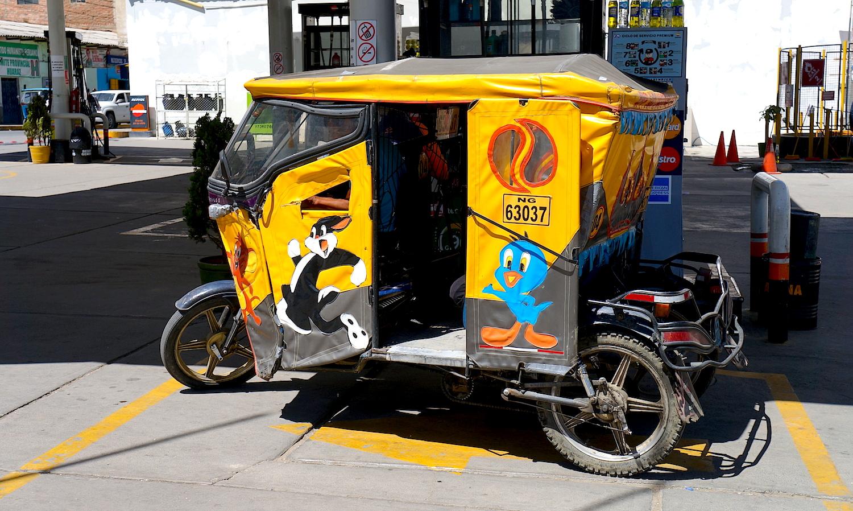 tuktuk Huaraz
